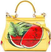 Dolce & Gabbana watermelon print handbag - women - Calf Leather - One Size