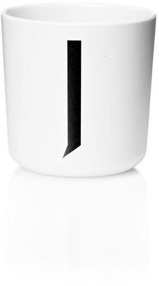 Design Letters Personal Melamine Cup - J