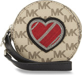 MICHAEL Michael Kors Heart leather coin purse