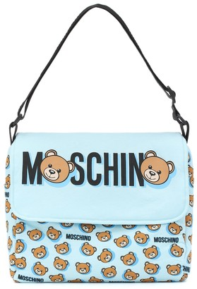 MOSCHINO BAMBINO Logo changing bag