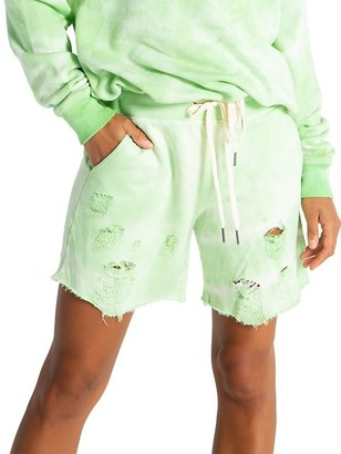 n:philanthropy Coco Distressed Jogger Shorts