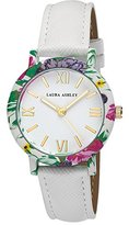 Laura Ashley Women's LA31003WT Analog Display Japanese Quartz White Watch