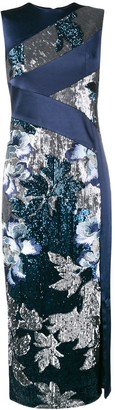 Three floor Glitterati dress