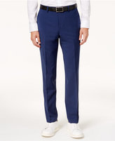 Bar III Men's Slim-Fit Active Stretch Solid Navy Suit Pants, Created for Macy's
