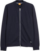 Boss Ztripe Navy Cotton Sweatshirt