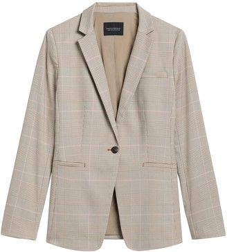 Banana Republic Long & Lean-Fit Washable Blazer