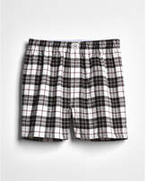 Express cotton flannel boxers