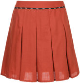 GUILD PRIME pleated mini skirt