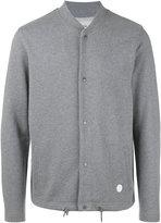 Folk knitted bomber jacket
