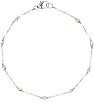 Dana Rebecca Designs Lulu Jack Bezel 14kt white gold diamond bracelet