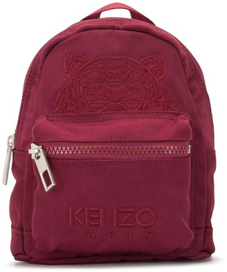 Kenzo mini Tiger embroidered backpack