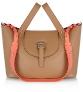 Meli-Melo Thela Color Block Small Leather Satchel