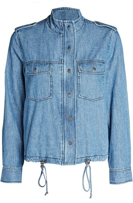 Rails Collins Chambray Military Jacket