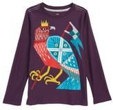 Tea Collection Toddler Boy's Hawk Highness Graphic T-Shirt