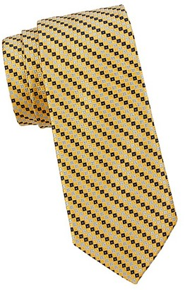 Saks Fifth Avenue Made In Italy Designed Silk Tie