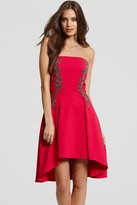 Little Mistress Pink Embellished Prom Dress