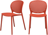 Urbia Bailey Stackable Chairs (Set of 2)