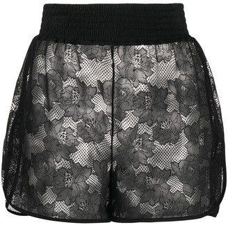 Wolford Lace Embroidered Shorts