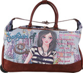 Nicole Lee Women's Teresa Rolling Duffle Special Print Edition