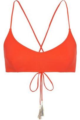 Emma Pake Chiara Lace-up Bikini Top