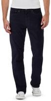 Levi's Navy Straight Leg '514' Corduroy Trousers