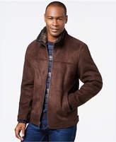 Nautica Faux-Shearling Zip Jacket