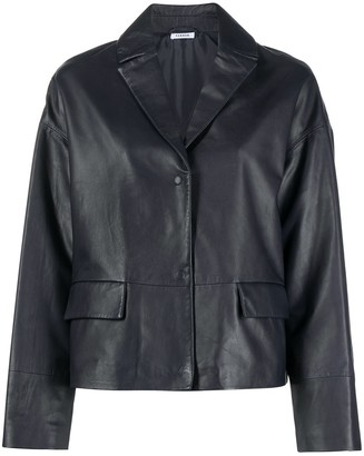 P.A.R.O.S.H. Buttoned Leather Jacket