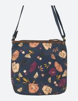 Fat Face Peony Floral Cross Body Bag