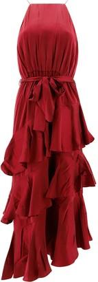 Zimmermann Ruffled Tiered Dress