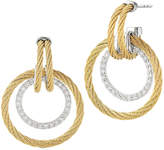 Alor Classique 18K & Stainless Steel 0.49 Ct. Tw. Diamond Drop Earrings