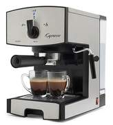Capresso Stainless Steel Pump Espresso & Cappucino Maker