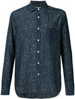 Vince patterned shirt - men - Silk/Cotton - M