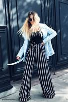 Forever 21 FOREVER 21+ Striped Palazzo Pants
