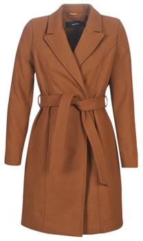 Vero Moda VMBLAIRE women's Coat in Brown