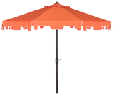 Safavieh Zimmerman Crank Market Umbrella With Flap