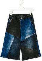 Diesel patchwork denim jeans