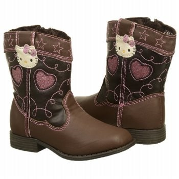 Hello Kitty Kids' Cowgirl Kitty Cowboy Boot Toddler