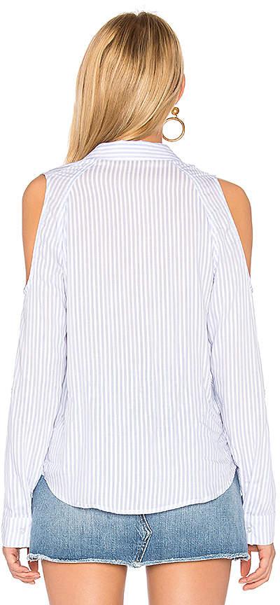 Generation Love Mckenna Stripe Button Up