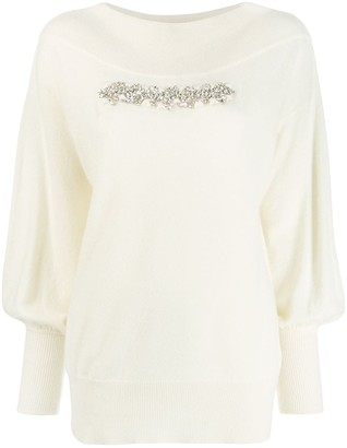 P.A.R.O.S.H. embellished sweater