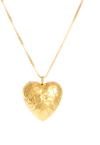 Susan Caplan Exclusive For ASOS Vintage Puff Heart Pendant