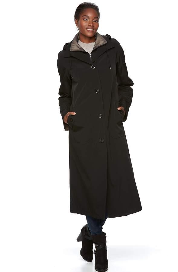 Gallery Women's Long Rain Coat