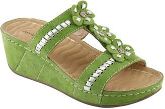 David Tate Wave Tech Comfort Wedge Sandals - Myrna