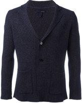 Lardini waffle knit blazer - men - Cotton - L