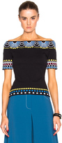 Peter Pilotto Day Knit Off Shoulder Top