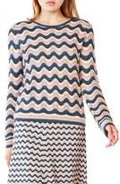 BCBGMAXAZRIA Women's 'Sanja' Pointelle Sweater