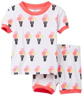 Petit Lem Ice Cream Social Pajama - 2-Piece Set (Baby Girls)
