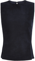 Martin Grant Sleeveless Suede Top