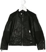 Diesel zipped jacket - kids - Polyester/Polyurethane - 8 yrs
