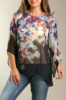 Casual Studio Floral Chiffon Top