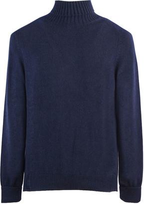 Fedeli Blue Cashmere Sweater